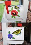 Summer Mailbox Painting