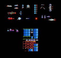 Sprites for 'Space Explorer'