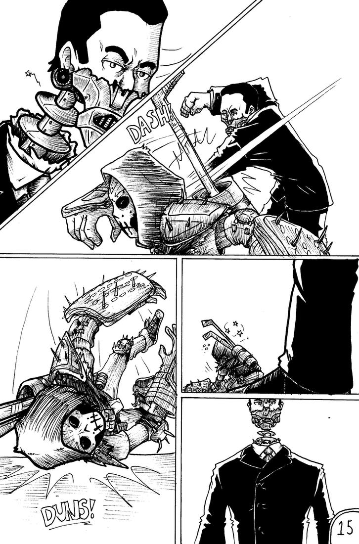 TMNT: The Rise of Abomin :PAGE 15: by MrARTism