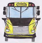 Thomas Freightliner FS-65 school bus