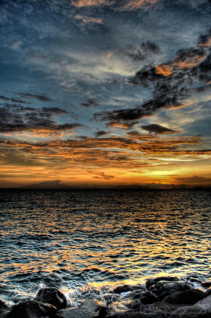 Manila's Sunset by gsuguitanjr