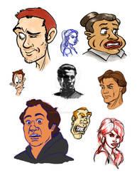 Faces, So Many Faces