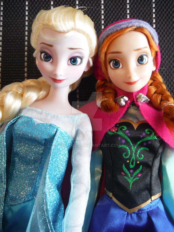 frozen dolls repaint by minacoco image