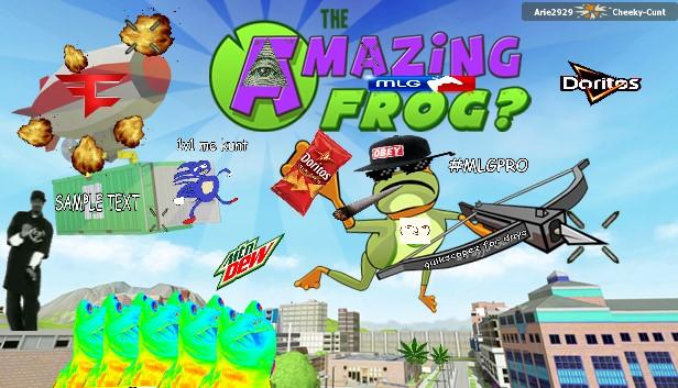 The Amazing MLG Frog by alfredo3212