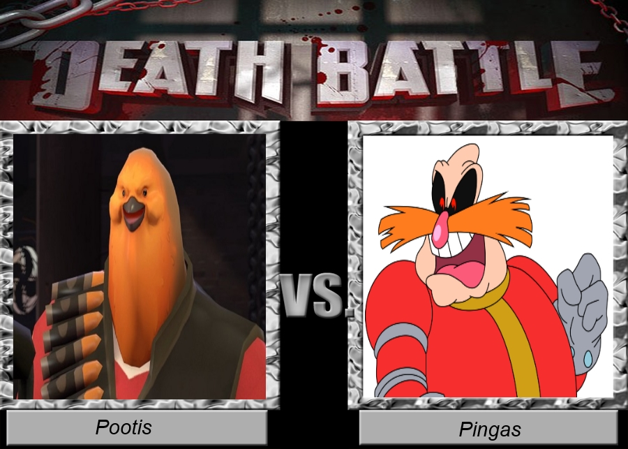 DeathBattle:Pootis vs Pingas by alfredo3212