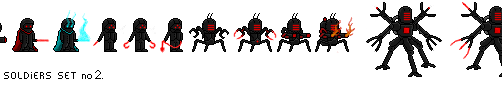 Draken's Army - Solders 2 by DrakeTheSlayer