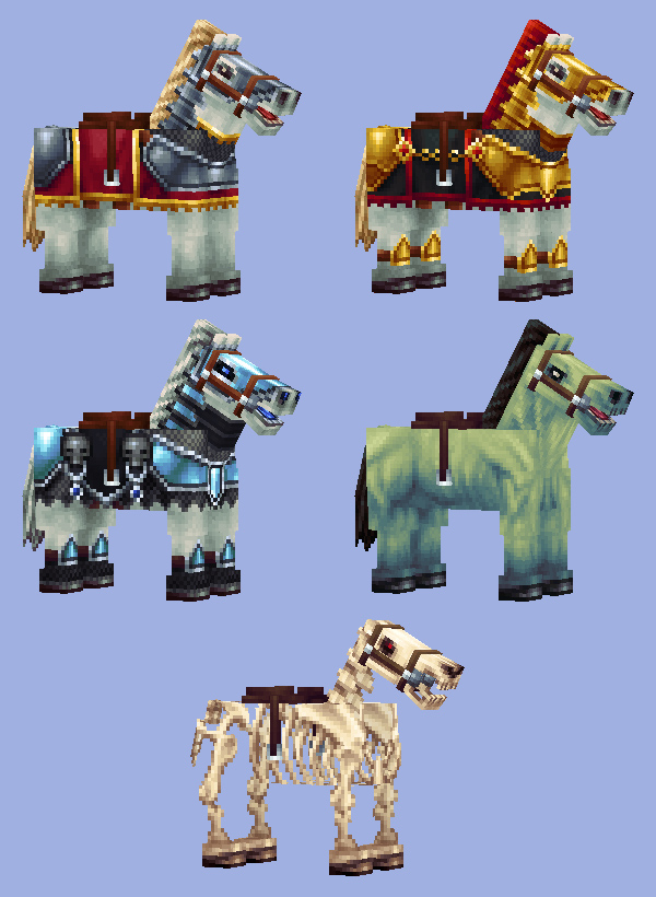 How To Craft Horse Armor Back In The Day