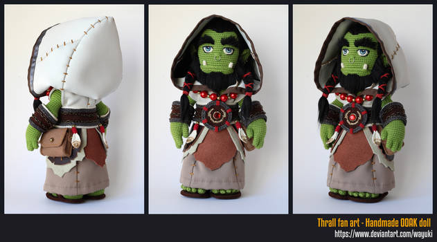 Thrall crochet doll - full costume