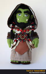 Thrall doll close-up