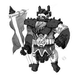 Dwarf Herald by SigurnFonShnaps
