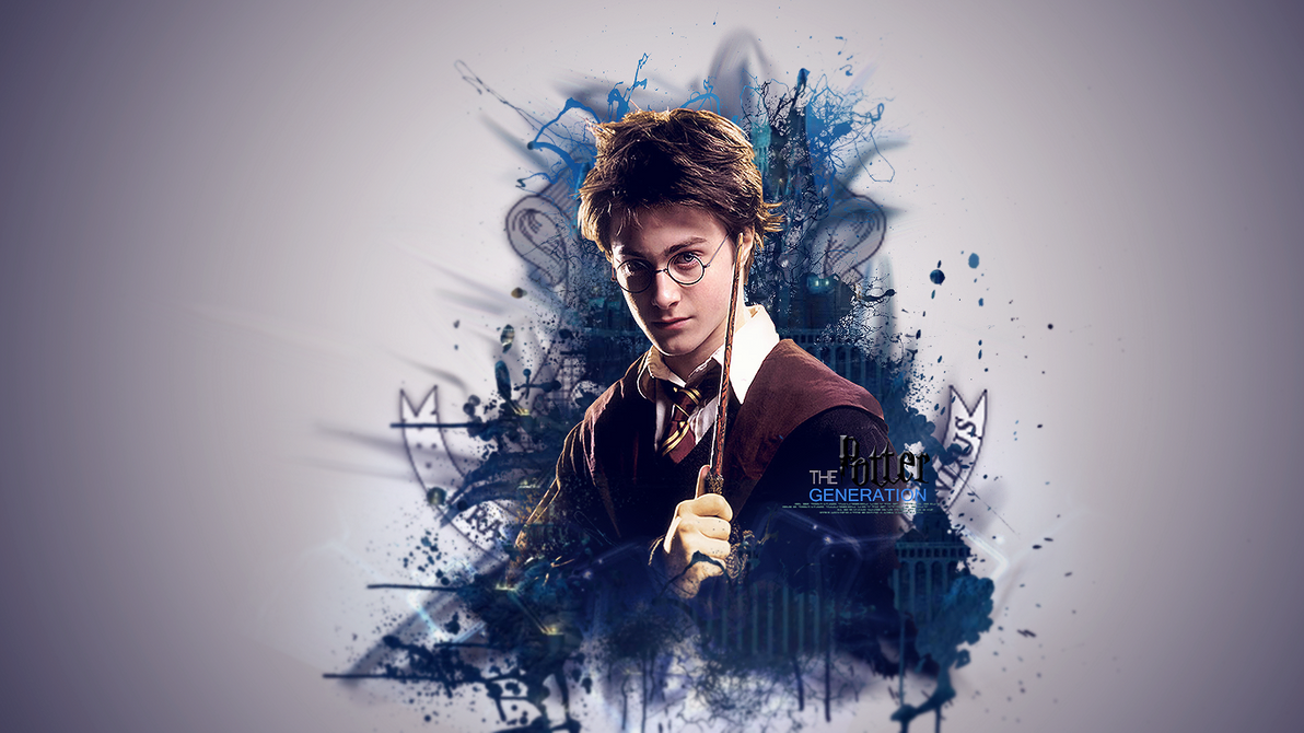Cool Wallpaper Harry Potter Abstract - harry_potter_wall_i_did_for_a_friend_by_legacydesiggns-d6auue7  HD_204171.png