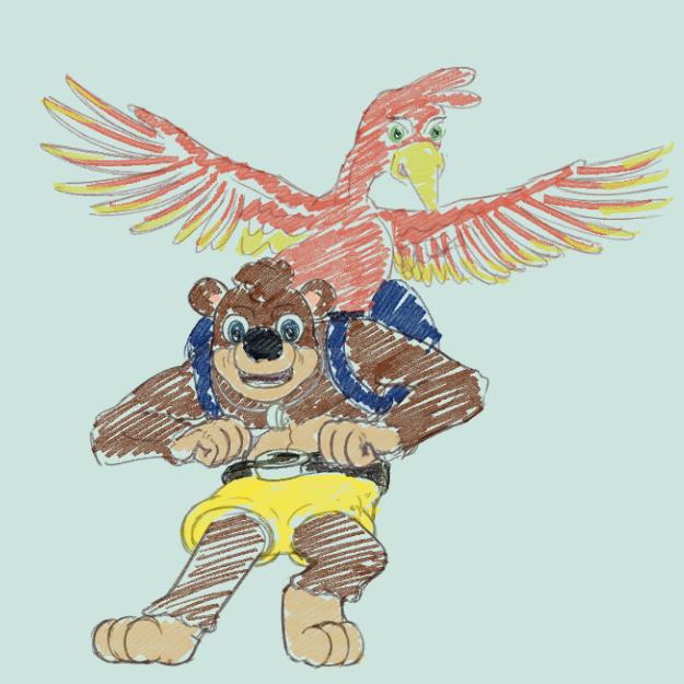 Bear And Bird