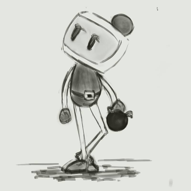 A Bomberman Hero