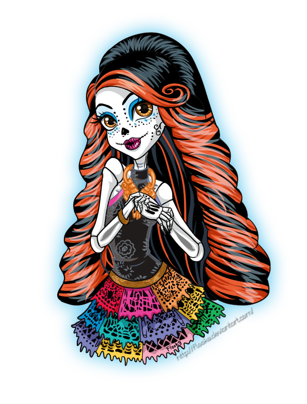 Monster HIgh : Skelita Calaveras by Flooks