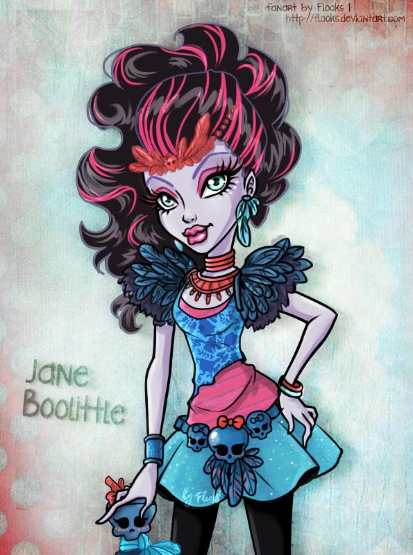 Monster High Jane Boolittle by Flooks by Flooks