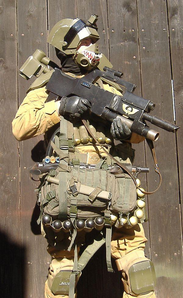 Full elysian drop gear by ElysianTrooper
