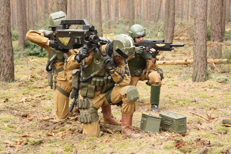 Shoulder based fire by ElysianTrooper