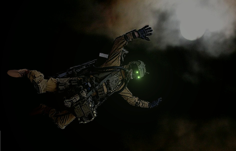 Night intruder by ElysianTrooper