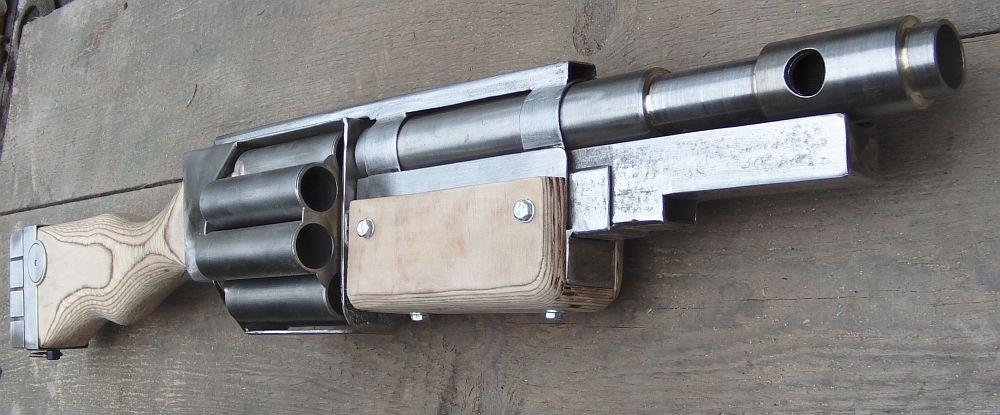 Warhammer40k DKoK Shotgun 1 by ElysianTrooper
