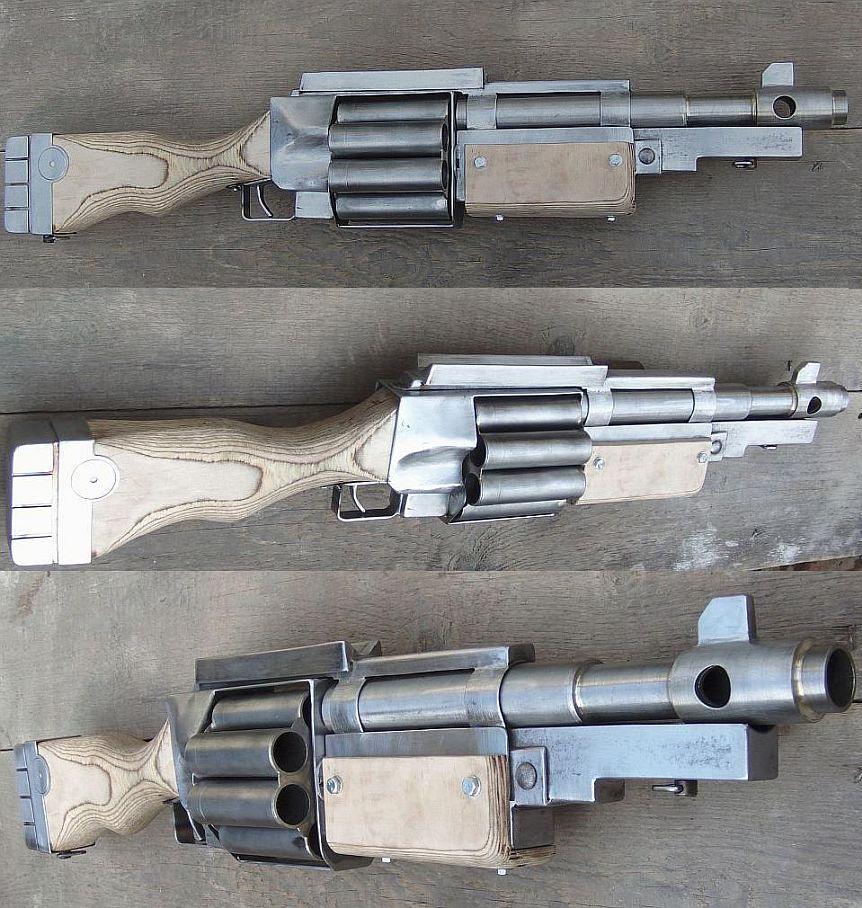 Warhammer40k DKoK Shotgun 2 by ElysianTrooper