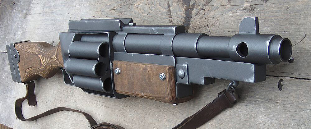 Warhammer40k DKoK Shotgun finished by ElysianTrooper