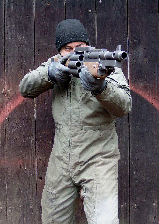 Warhammer40k DKoK Shotgun test for firing pose by ElysianTrooper