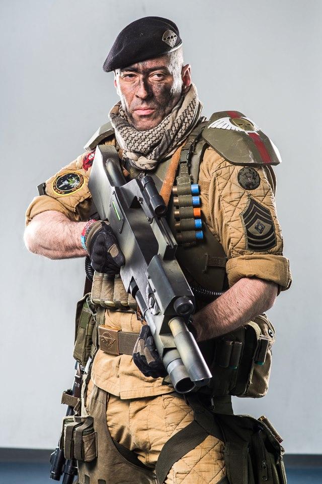 Me , elysian drop troop sarge by ElysianTrooper