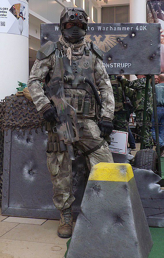 Elysian spec ops drop trooper by ElysianTrooper