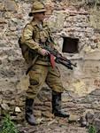 Soviet trooper A-stan display
