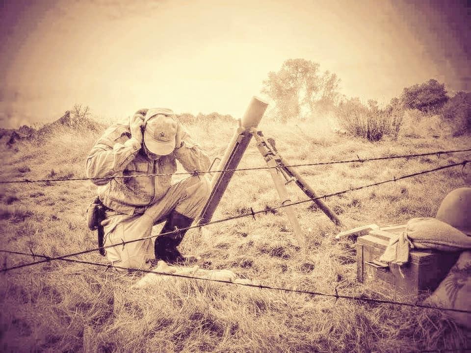 Mortar firing by ElysianTrooper