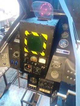 Avenger cockpit progress