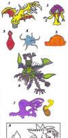 Alien Creatures by Tektalox
