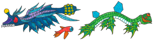 Otherworldly Sea Creatures