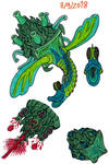 Turban Snail Monster by Tektalox