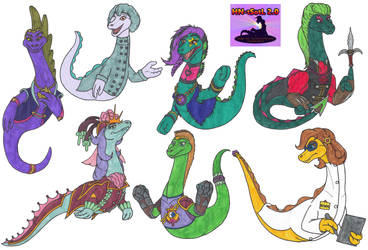 Nessie Character Concept Art by Tektalox