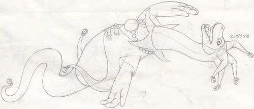 Silly Ness HN-tSotL 2.0. Sketch by Tektalox