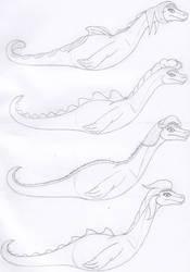 Nessie Character Morphology by Tektalox