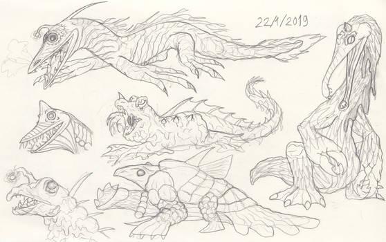Stygian Kaiju by Tektalox