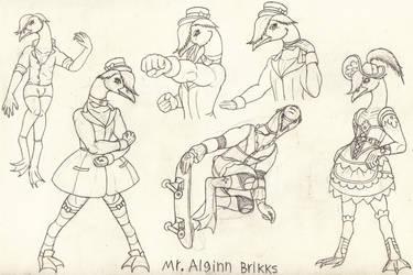 Mr. Alginn Brikks