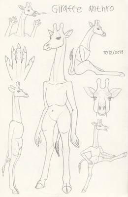 Giraffe Anthro