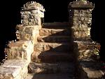 Transparent PNG rock steps