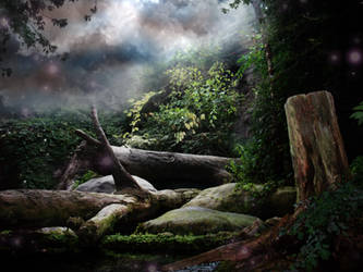 Fantasy Background three by Pickyme