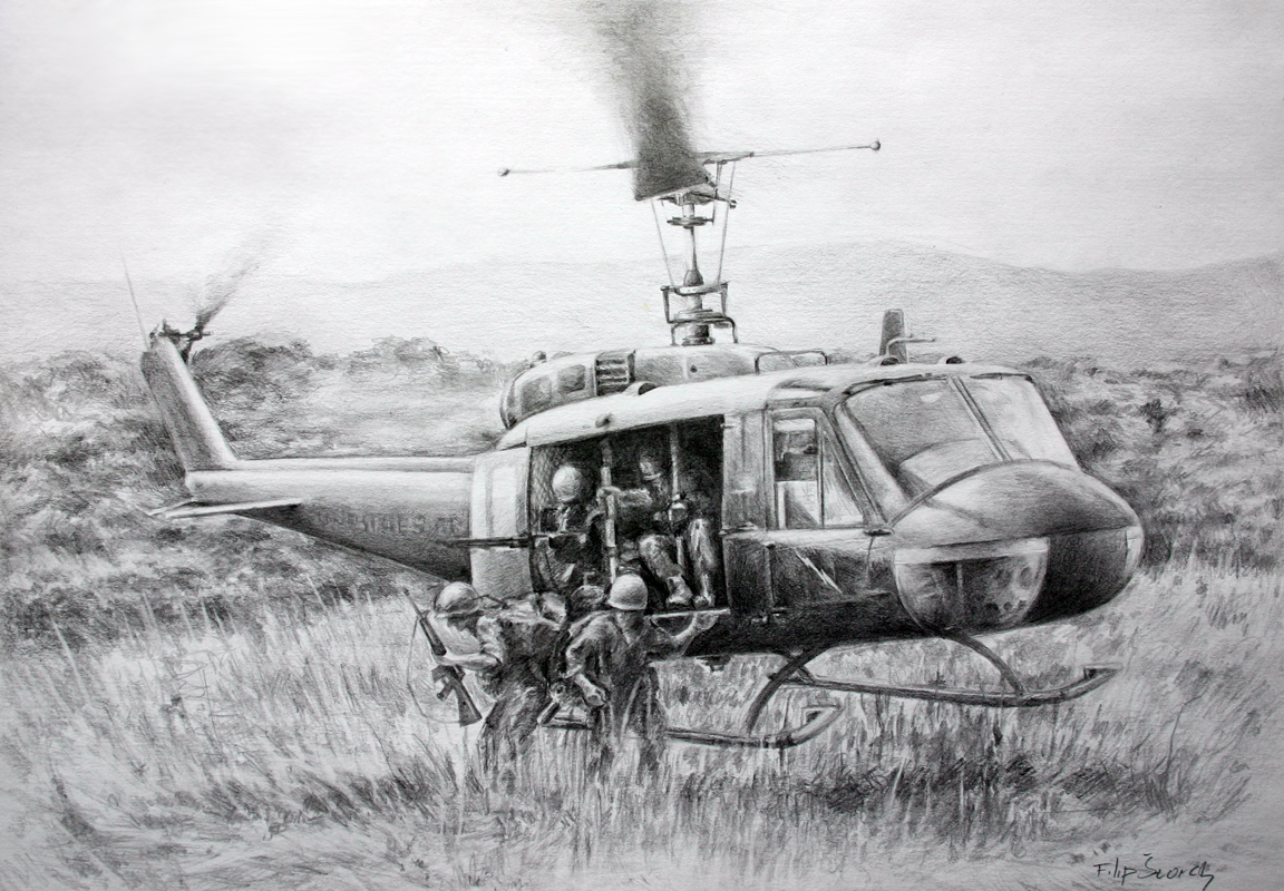 UH-1D by Skvor