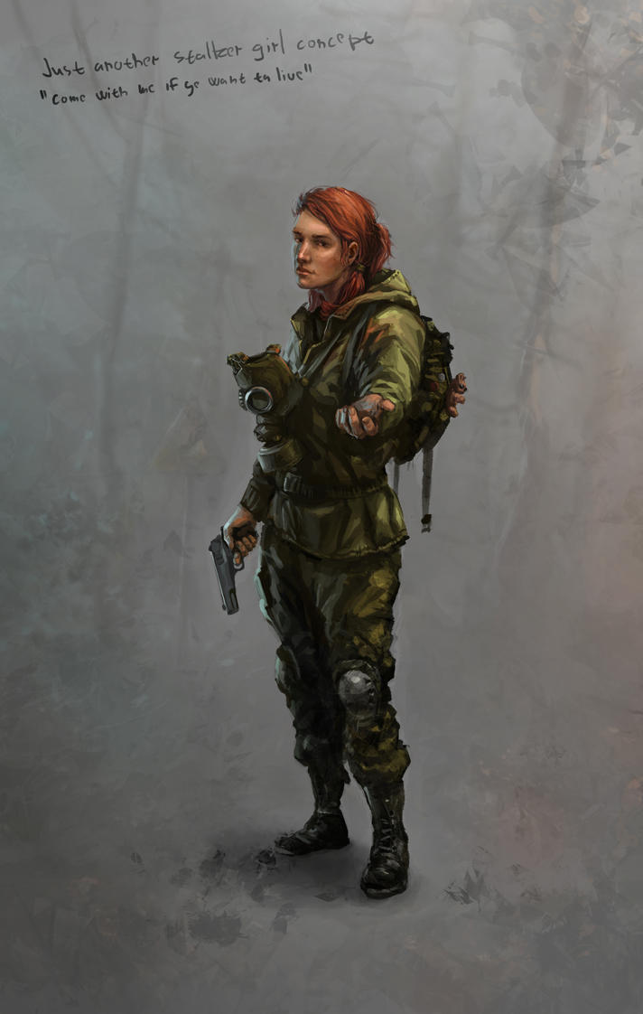 Stalker Girl By Skvor On Deviantart