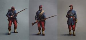 Brooklyn regiment soldiers by Skvor