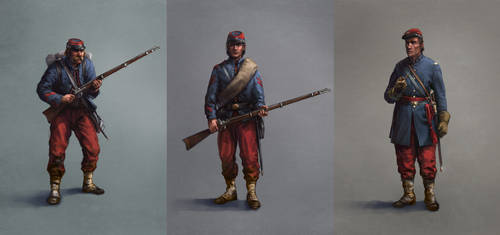 Brooklyn regiment soldiers