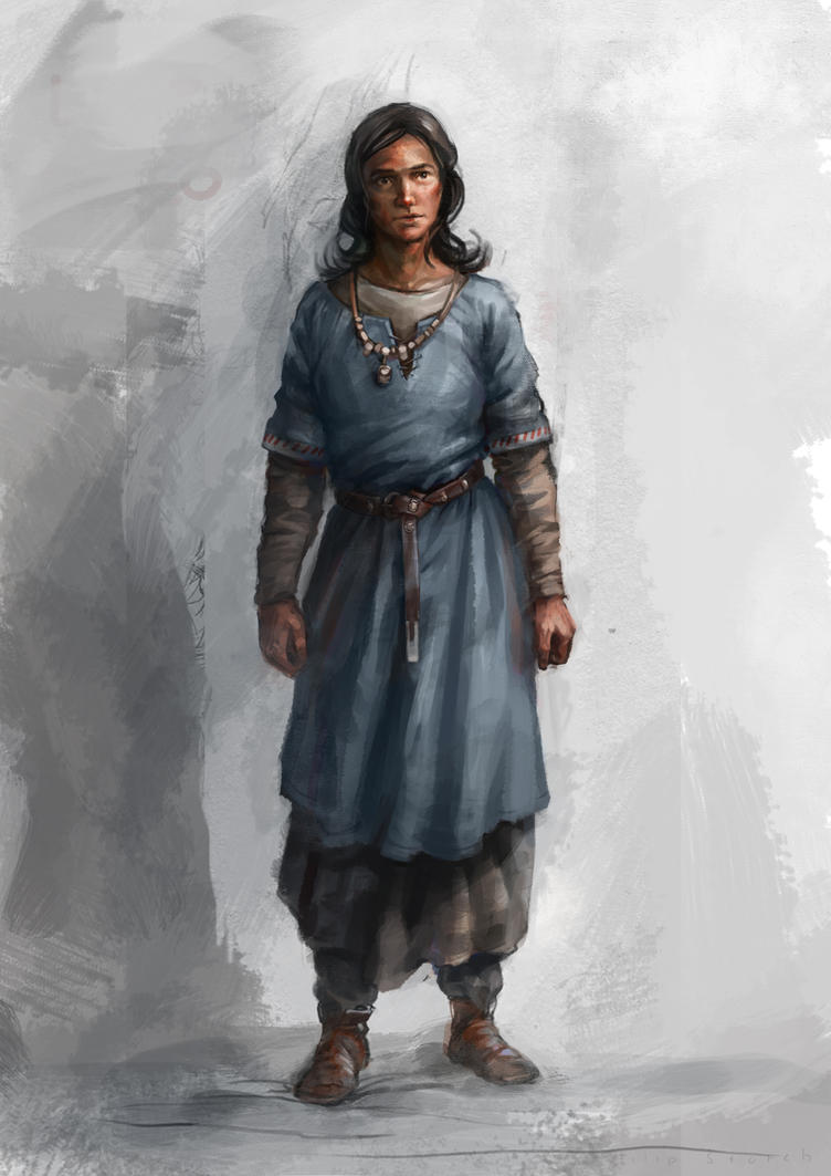 female medieval clothes by Skvor