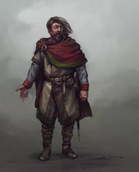 Lord character concept by Skvor