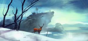 Deer Magic by Skvor