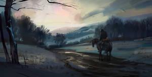 winter come by Skvor